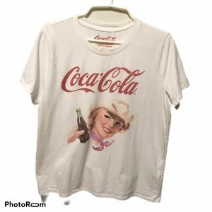Lucky Brand Coca Cola Vintage Style Tee  Size XL